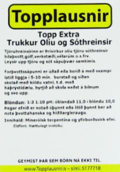 Topp_Trukkur_miði